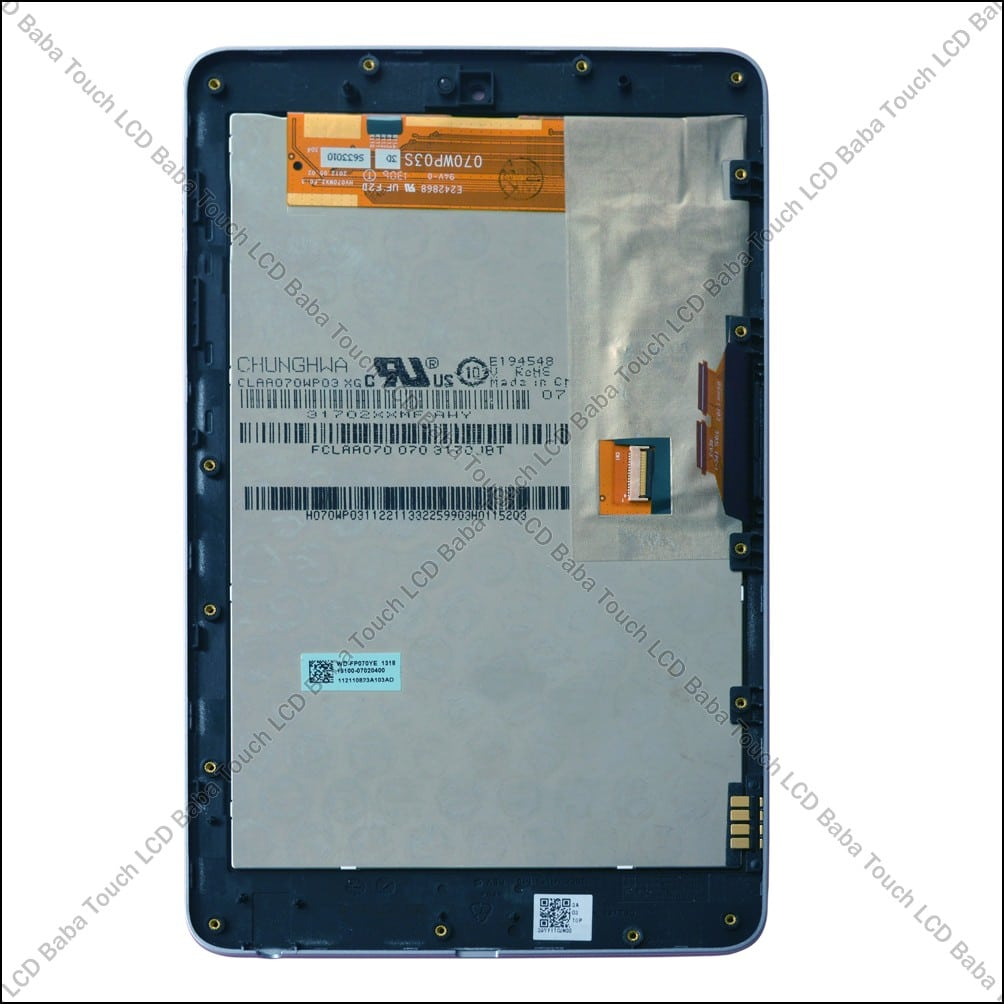 Google Nexus 7 Display and Touch Screen