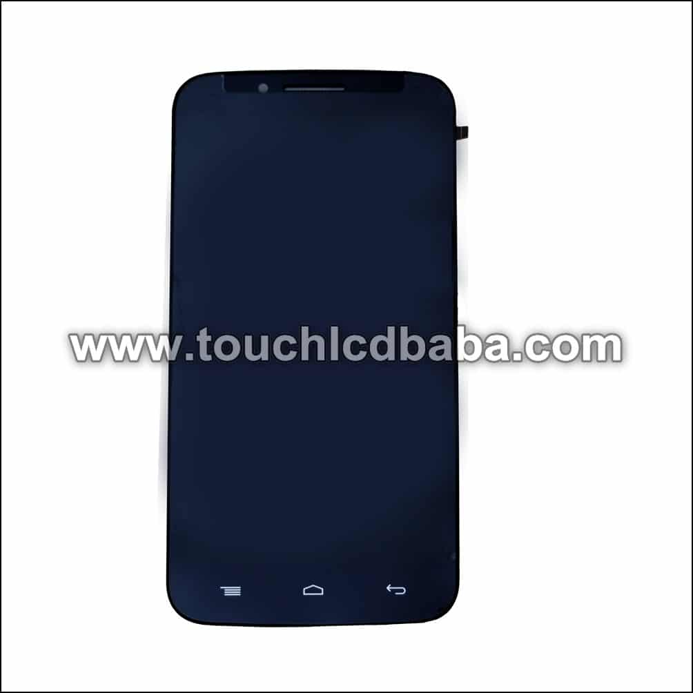Panasonic Eluga Icon LCD Display Touch Screen Combo Frame