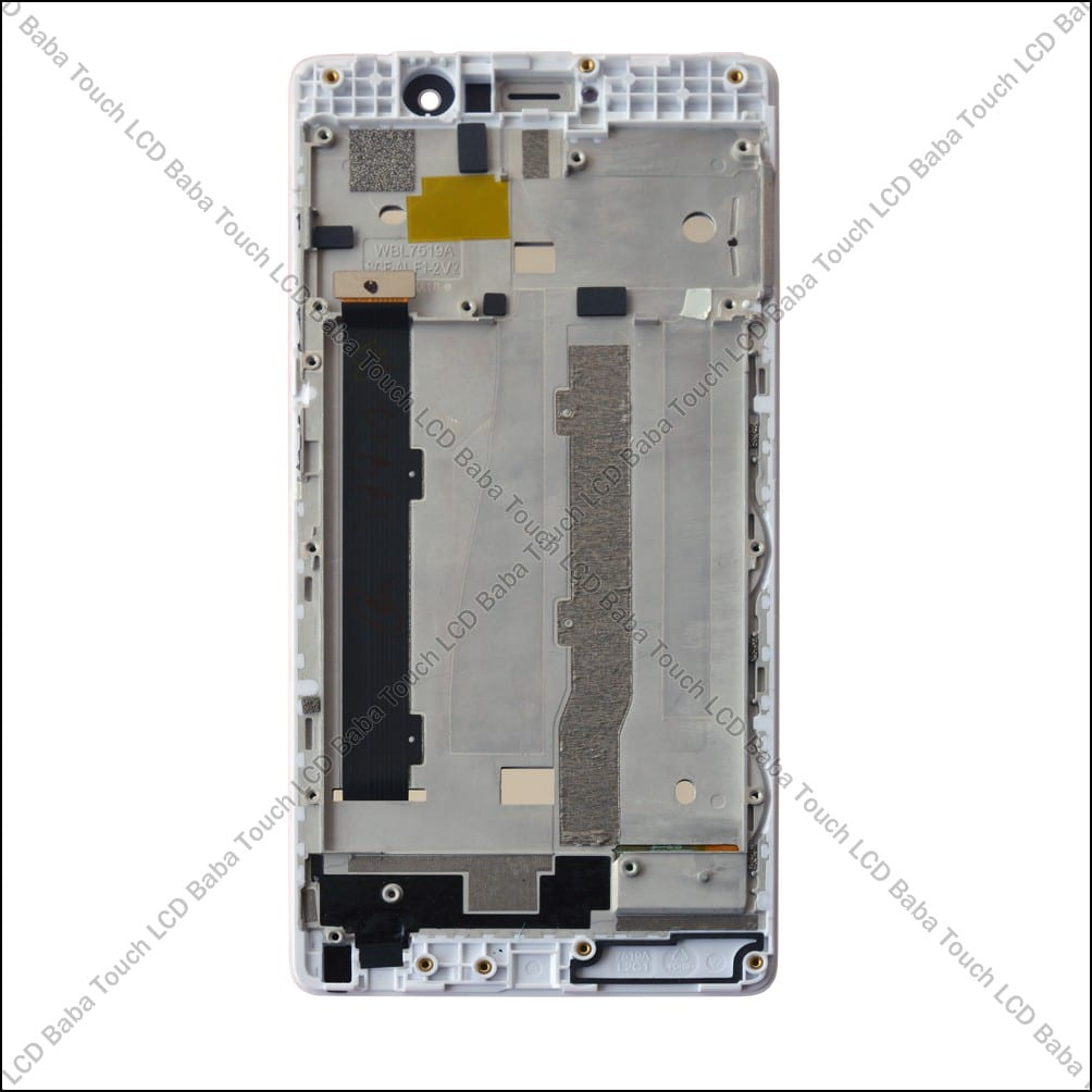 Gionee S6s Display and Touch Assembly With Frame