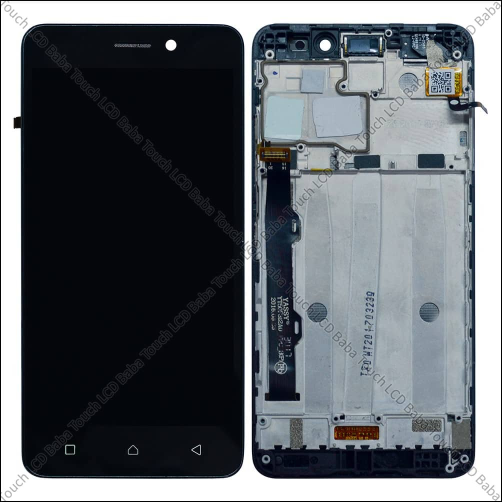 Lenovo K6 Power Display and Touch Screen With Frame
