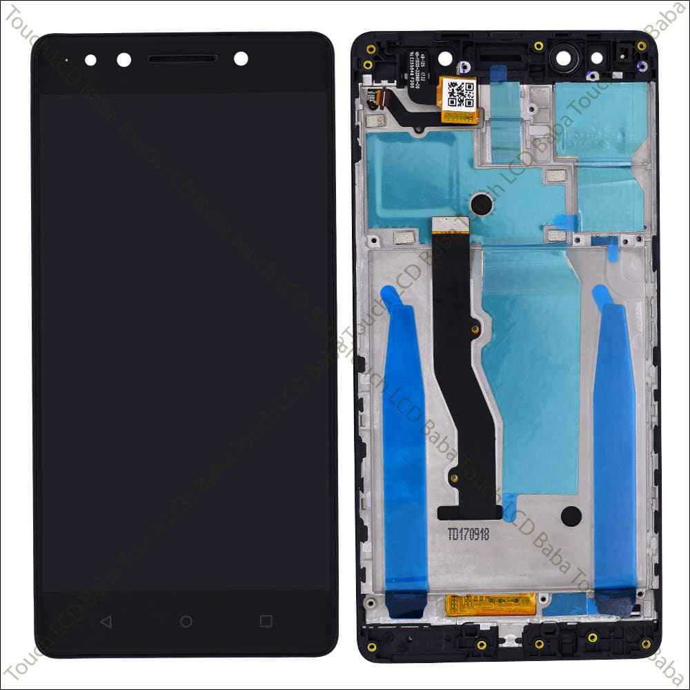 Lenovo K8 Note Display and Touch With Frame