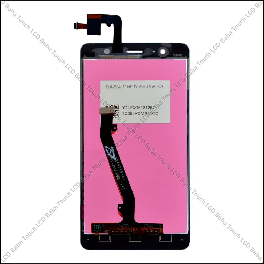 Lenovo K8 Plus Display Damaged