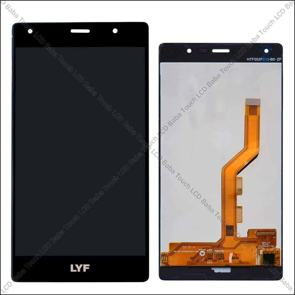 LYF Water F1s Display and Touch