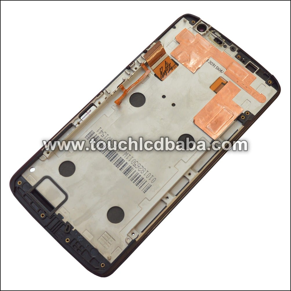 Moto X Play Display With Frame