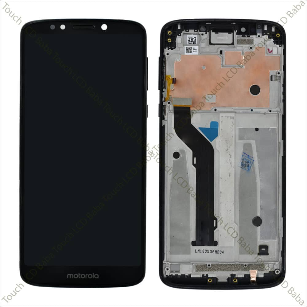 Moto E5 Plus Display and Touch Screen Broken