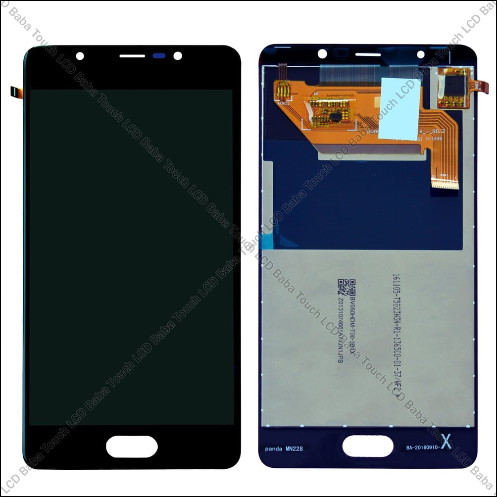 Panasonic Eluga Ray Display and Touch