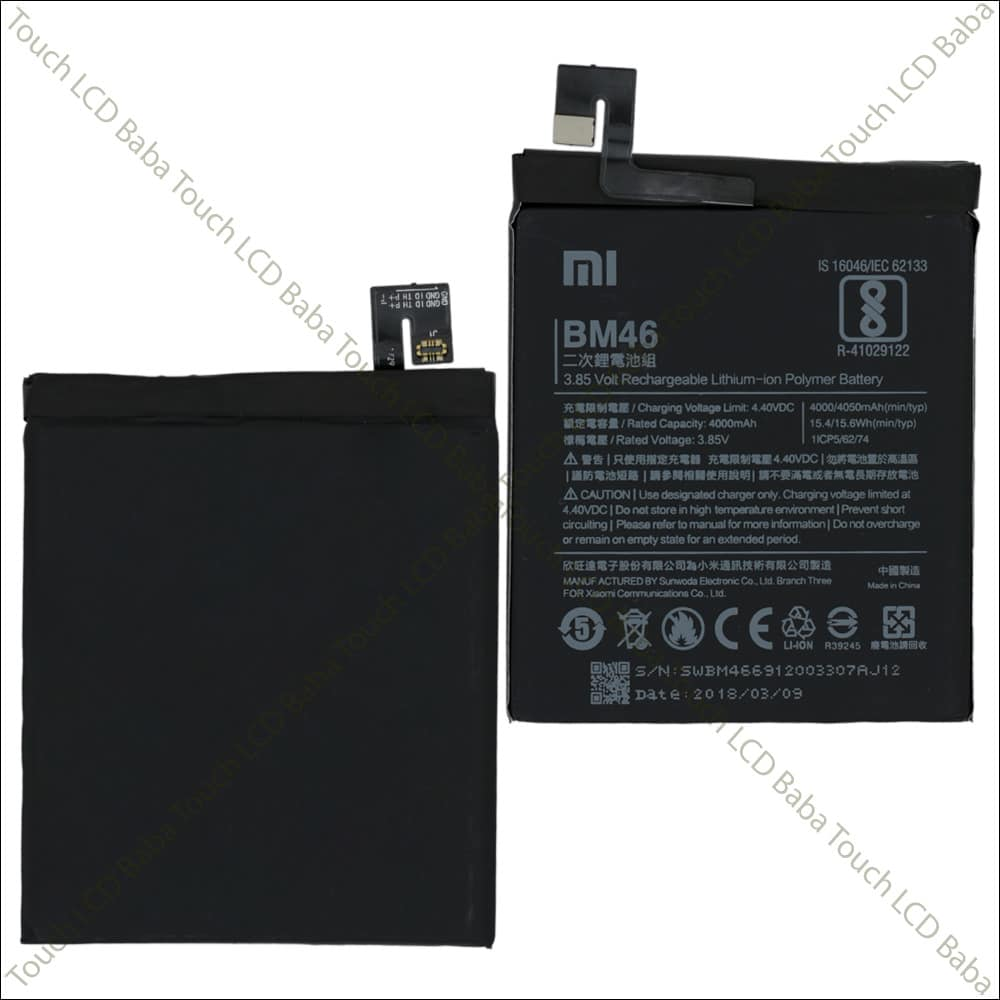 Redmi Note 3 Battery Replacement