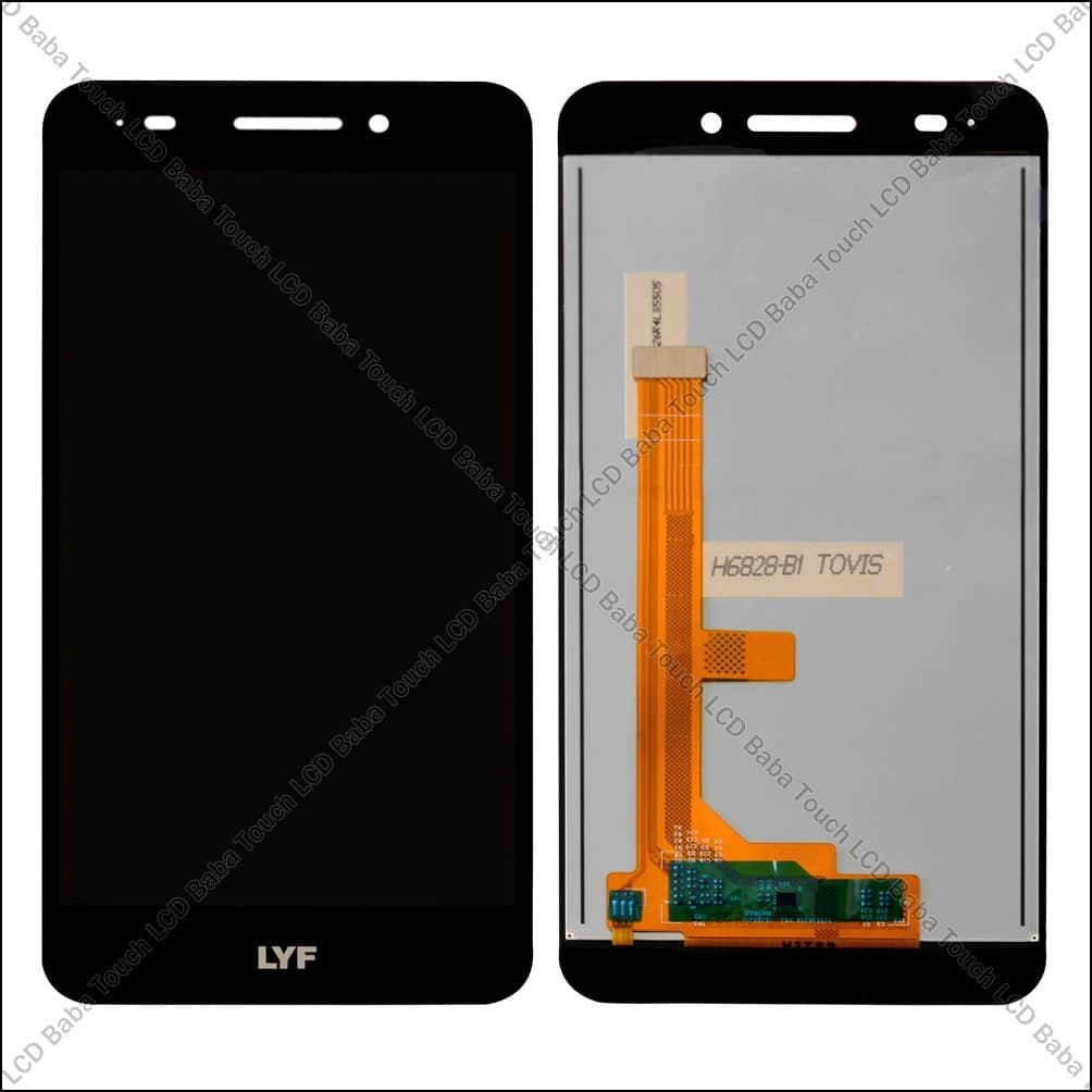 LYF Water F1 Display and Touch