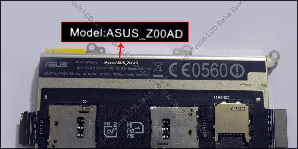 Asus Z00AD Model
