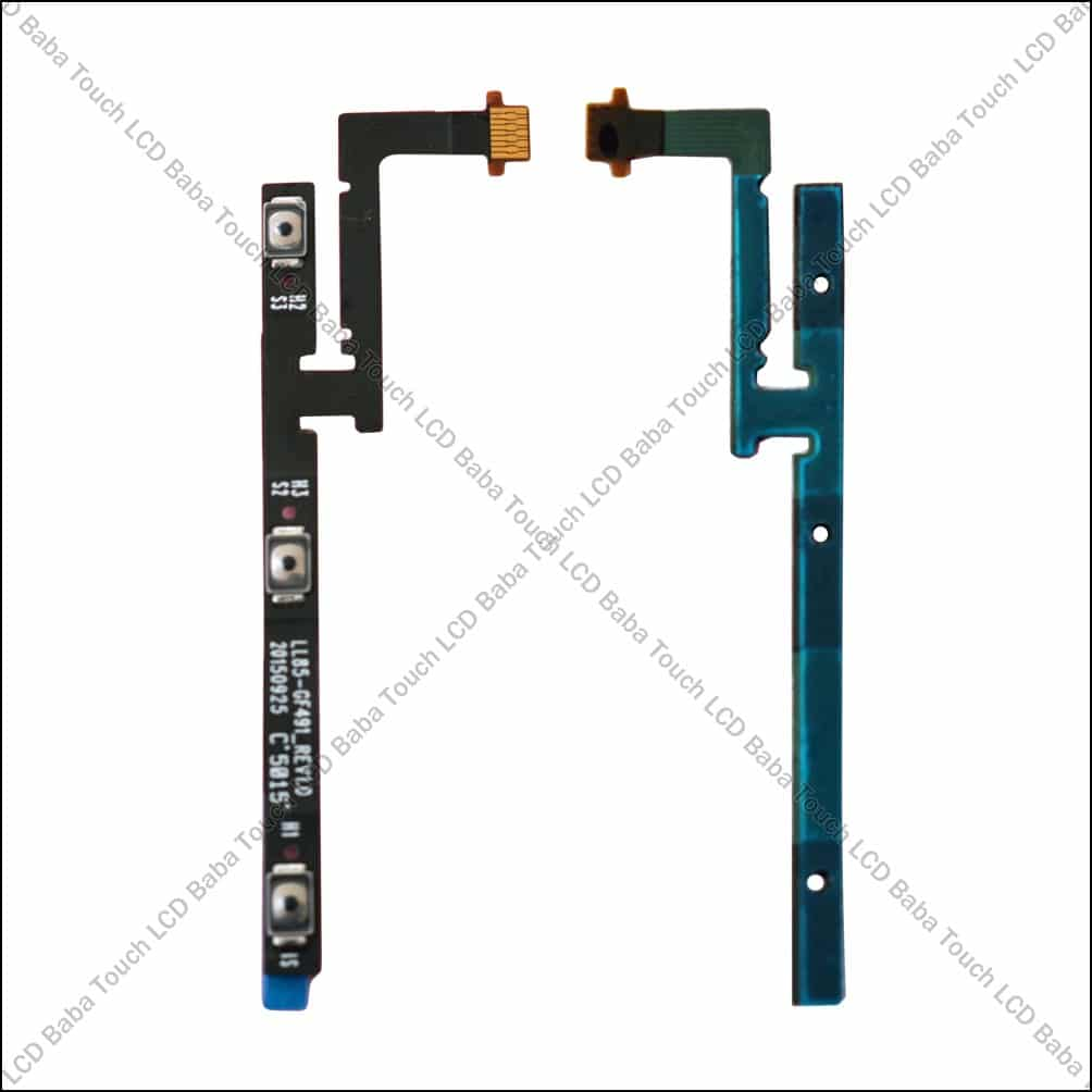 Letv Le 1s X507/X509 Power On/Off and Volume Controller Flex Cable Strip -  Touch LCD Baba