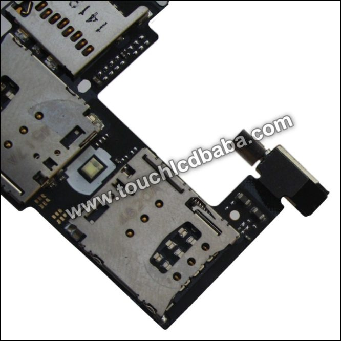 Moto G2 Memory Sim Card Reader Flex