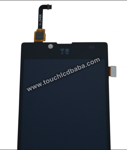 Yu Yuphoria 5010 LCD Display With Digitizer Glass