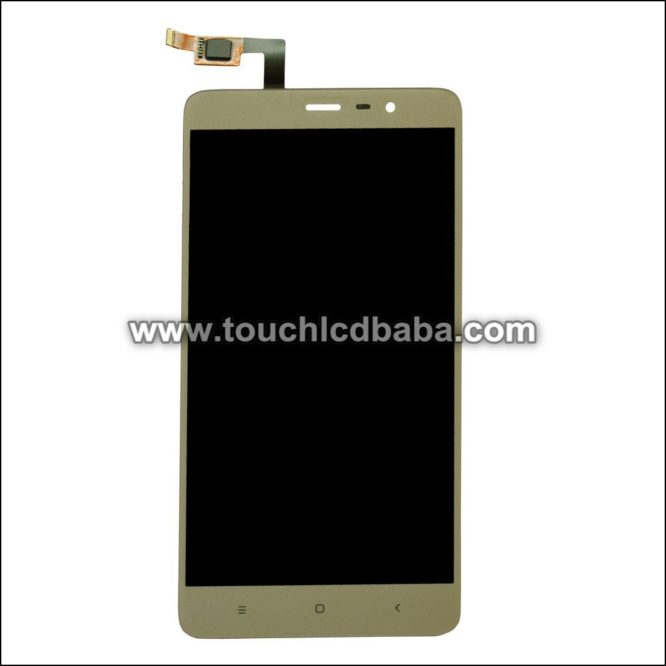 Broken Redmi Note 3 Broken Display Replacement Golden