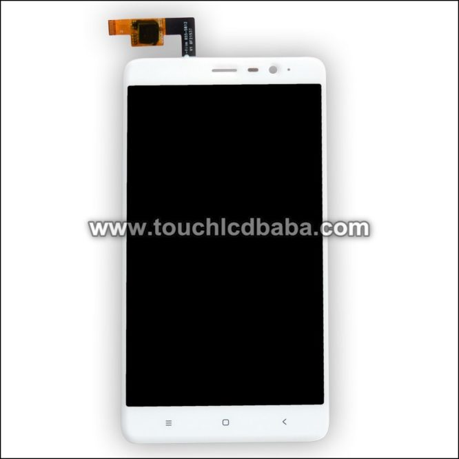 Broken Redmi Note 3 Broken Display Replacement White