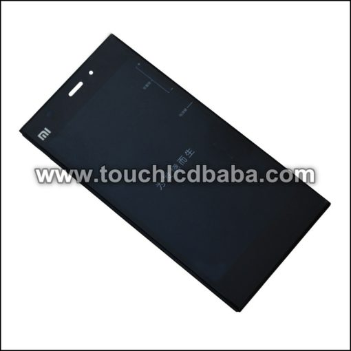 Mi3 Display With Touch Screen With Frame