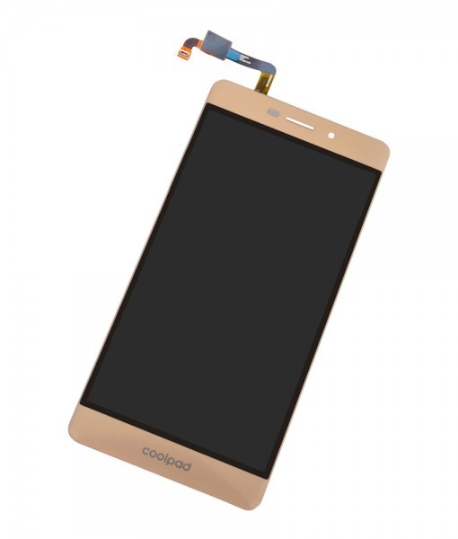 Coolpad Mega 2.5D Display and Touch