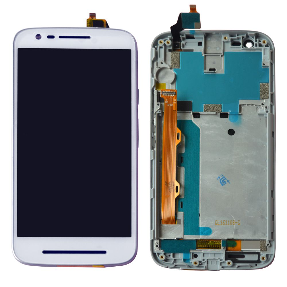 separation shoes f98ba 9f00e Moto E3 Power Display and Touch Screen With Outer Frame