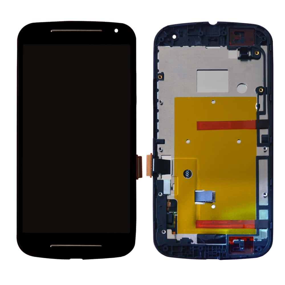 Motorola Moto G2 Display And Touch Screen With Frame