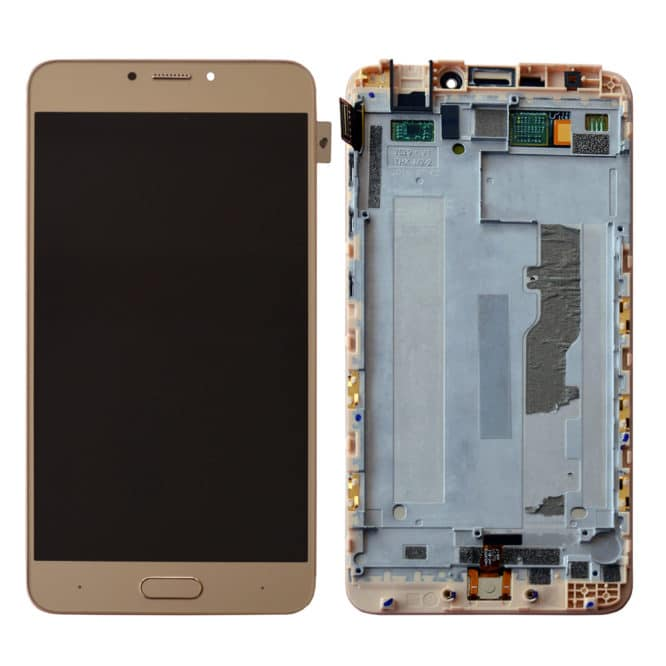 Gionee S6 Pro Gold Color Display Replacement
