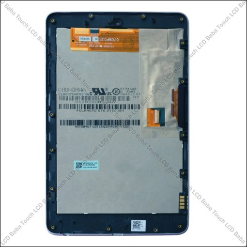 Google Nexus 7 Tab 2012 Display