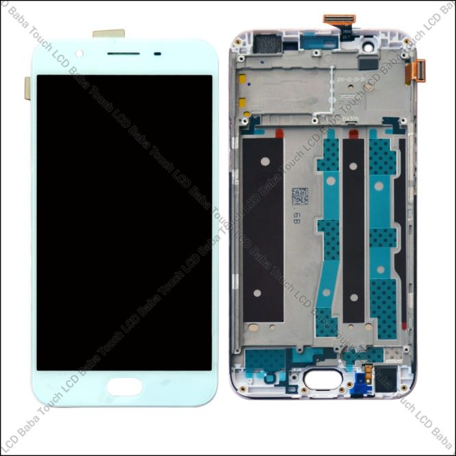 Oppo F1s Display and Touch Screen With Frame