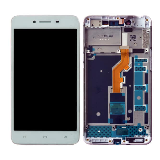 Oppo A37 Display and Touch With Frame