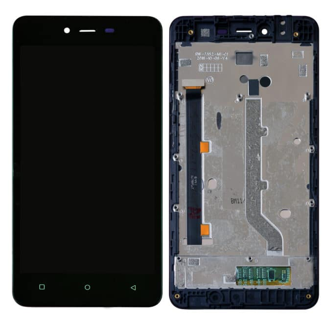 Gionee P5L Display and Touch With Frame