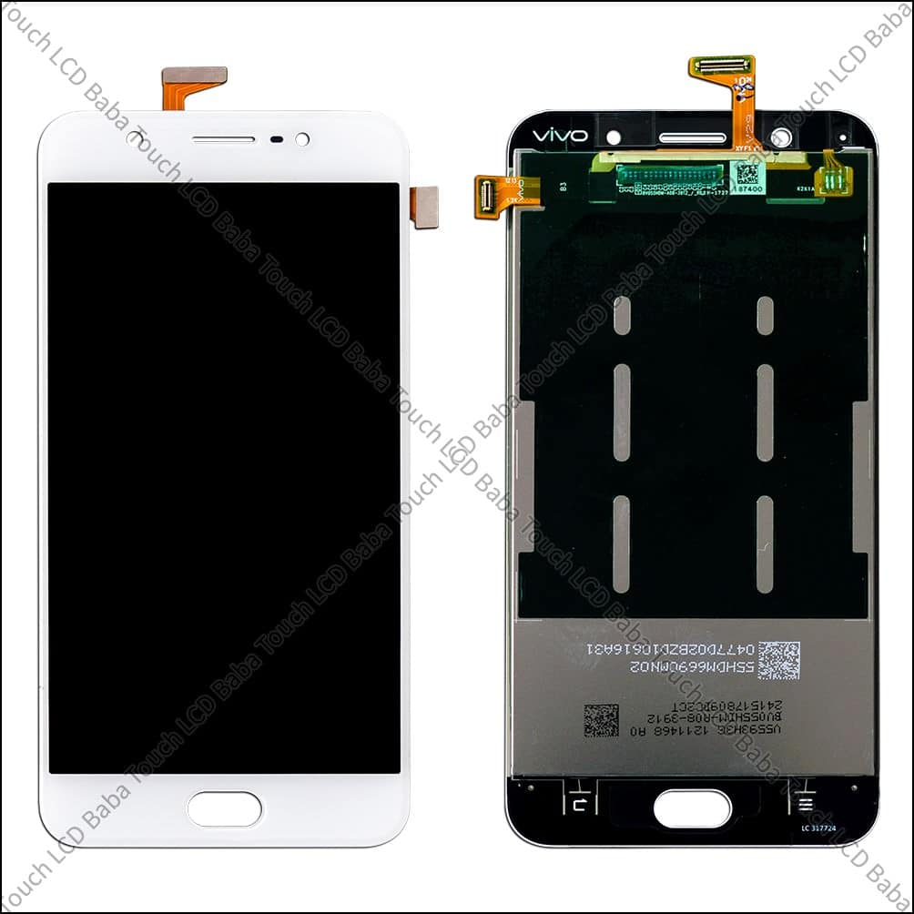 Vivo Y69 Display And Touch Screen Glass Combo 1714 Lcd Baba V5lite 4g Broken