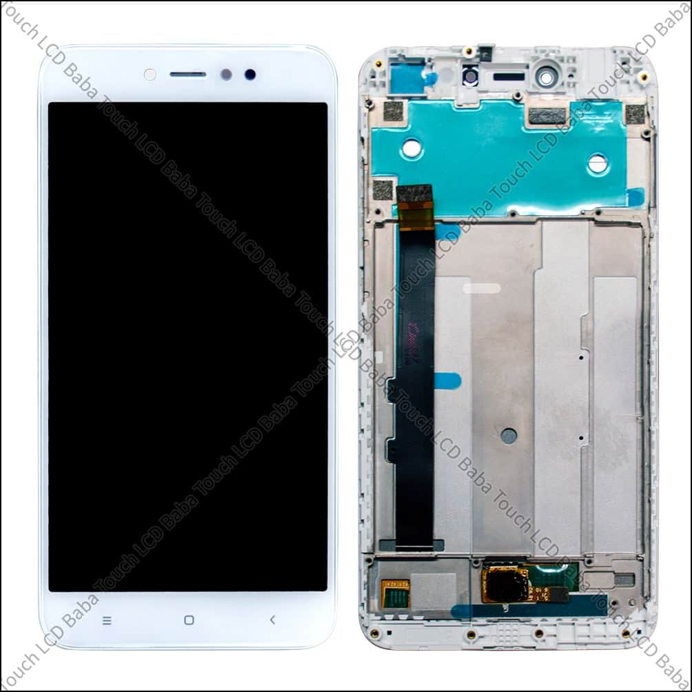 Redmi Y1 Display And Touch Screen Glass Combo With Outer