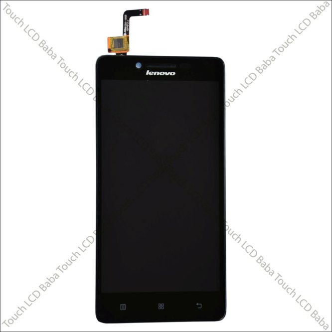 Lenovo A6000 Display Combo With Frame