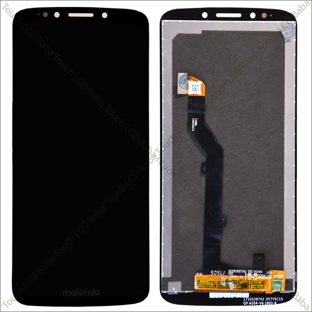 Moto E5 Display and Touch Screen Glass Combo XT1944-5 - Touch LCD Baba