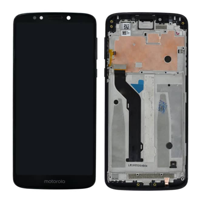 Moto E5 Plus Display With Frame