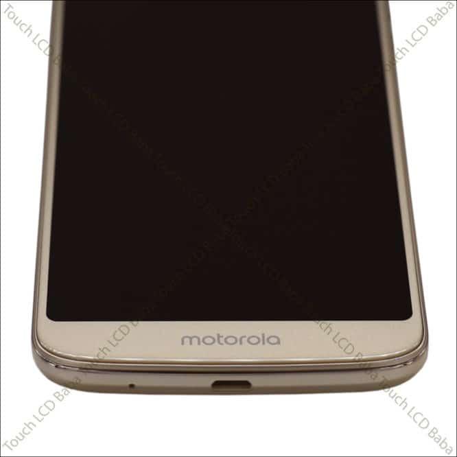 Moto E5 Plus Golden With Outer Frame