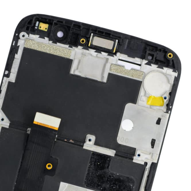 Moto M Combo Black With Frame With Panel