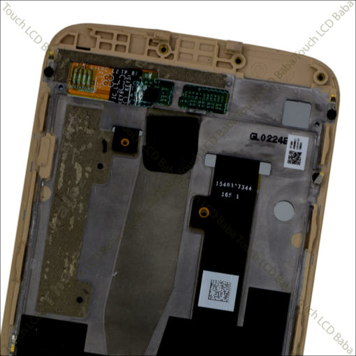 Moto M Golden Combo With Frame