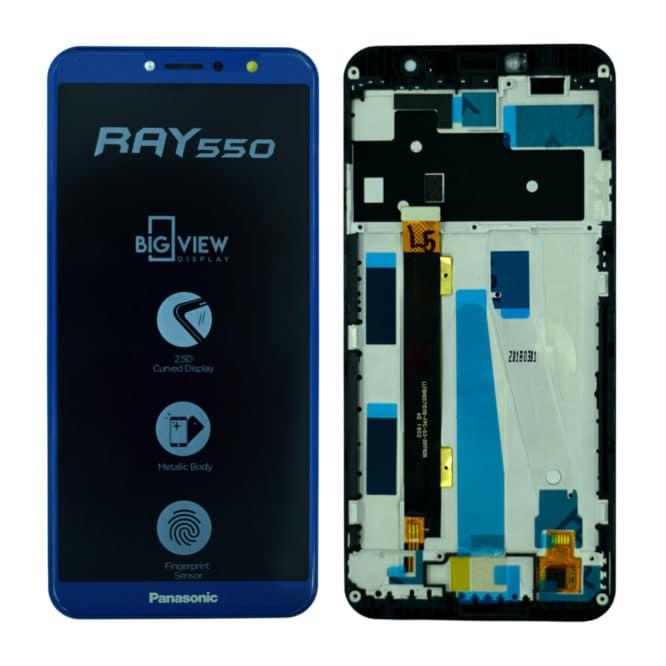 Panasonic Ray 550 Display and Touch Combo