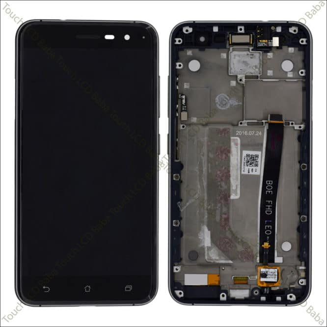 ZE520KL Display Replacement With Frame