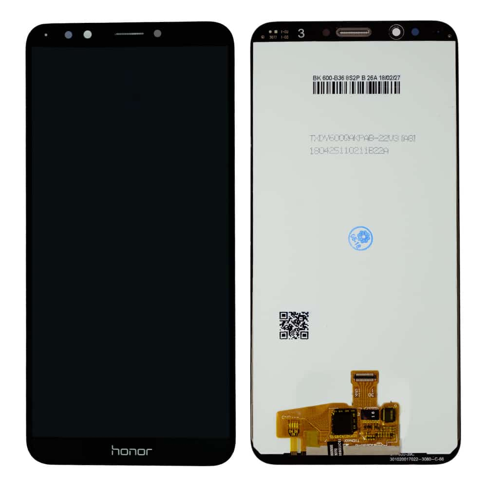 Huawei Y7 Prime 2018 Display and Touch Screen Glass Combo Replacement  LDN-TL10