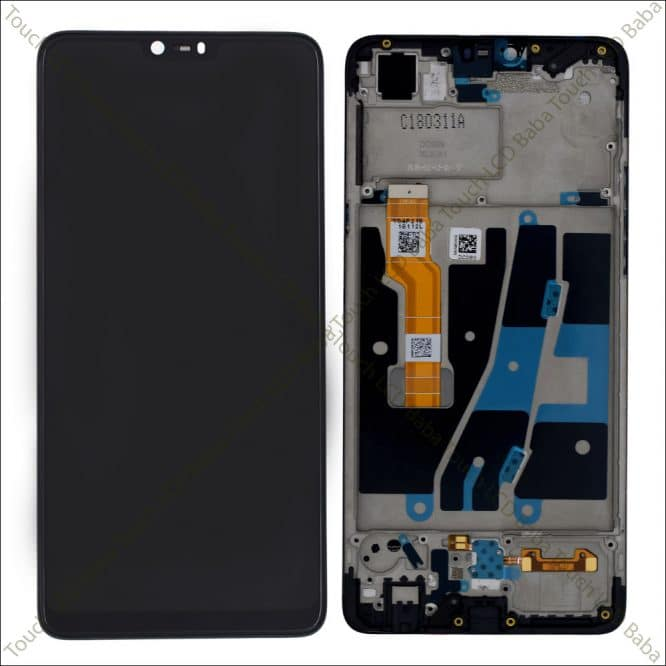 Oppo F7 Combo Replacement With Frame