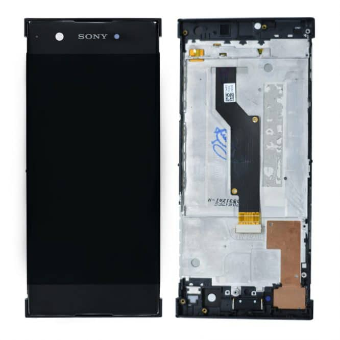 Sony XA1 Black With Frame
