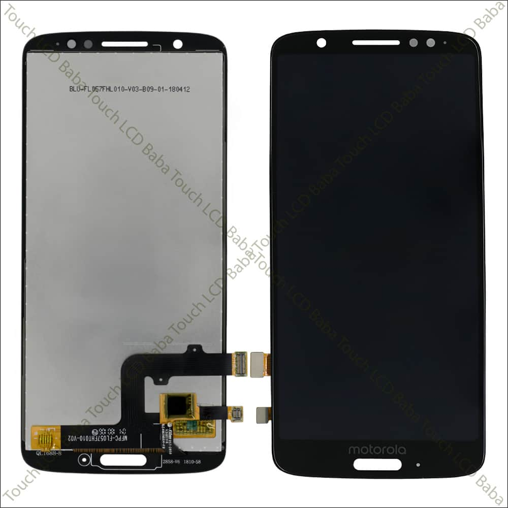 Moto G6 Display and Touch Screen Glass Combo Replacement XT1925-13 - Touch  LCD Baba