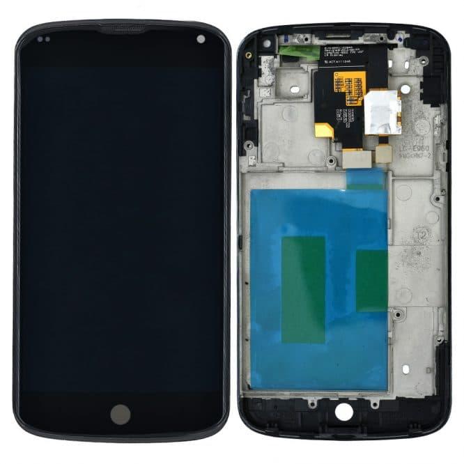 Google Nexus 4 Display Broken