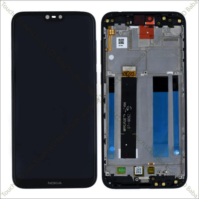 Nokia 6.1 Plus Display Combo With Bezel