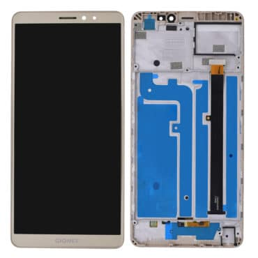 Gionee M7 Power Golden With Frame